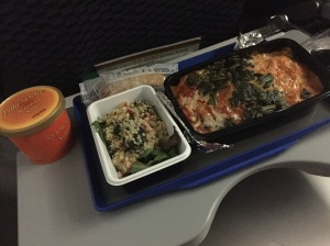 Airplane food, am I right?